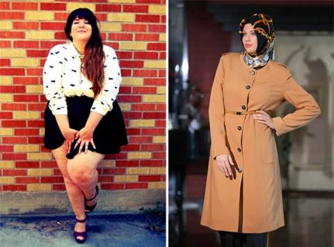 model baju kantor wanita gemuk terbaru