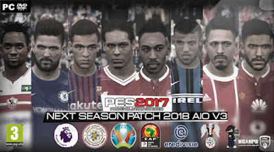 PES 2017 Next Season Patch 2018 v3 AIO Season 2017/2018