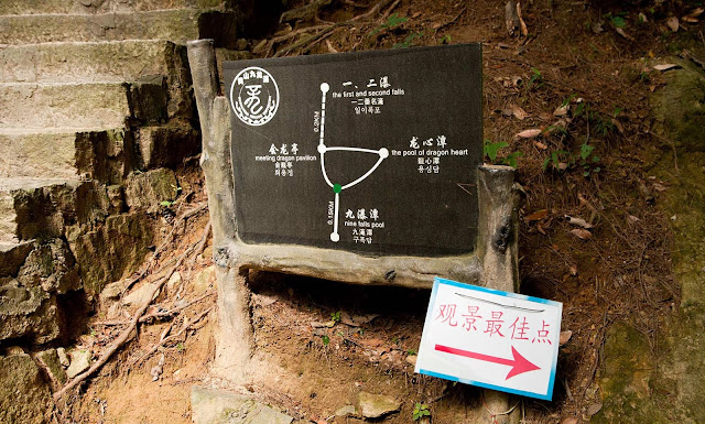 Indicaciones HuangShan