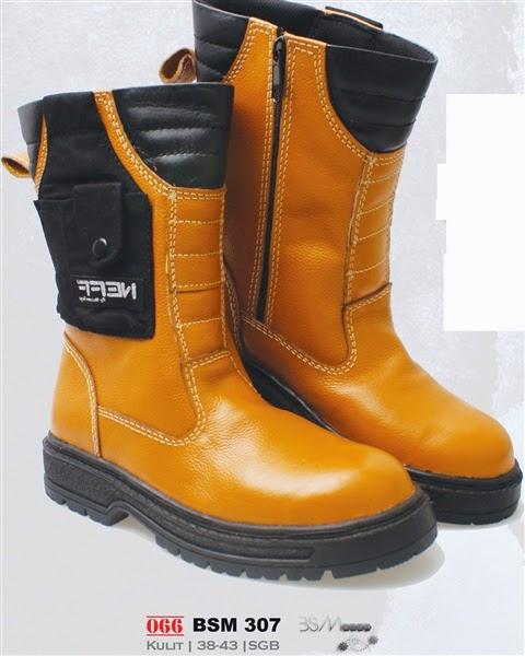 Sepatu safety cibaduyut murah, sepatu safety model boots, sepatu safety kulit murah, sepatu safety murah bandung