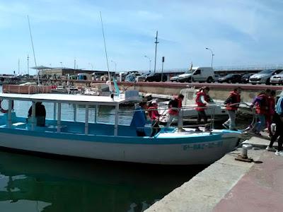 Ruta educativa al Port d'Arenys de Mar
