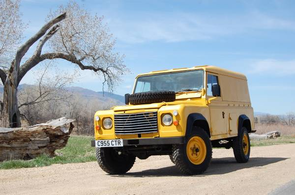 Rare Find 1985 Land Rover Defender 110