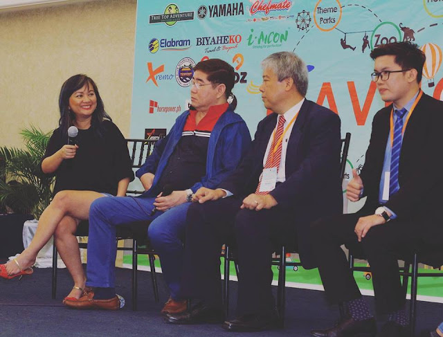 Successful launch of Travelooza with Regina Victoria Y. De Ocampo of Yamaha & upcoming events of TAG Media