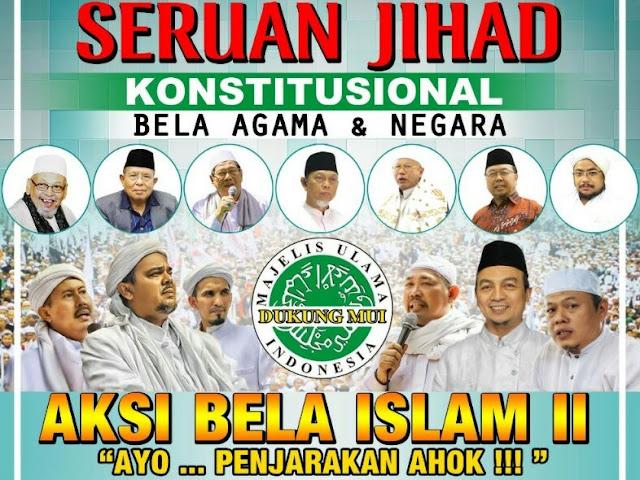 Aksi Bela Islam 4 Nopember 2016