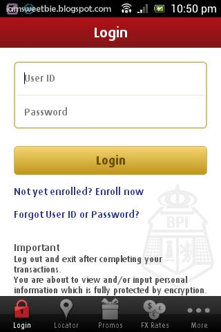 BPI Mobile App - wanderwahm