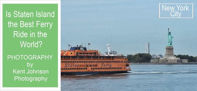 Is the Staten Island Ferry the best free ferry ride in the world? Photo by Kent Johnson.