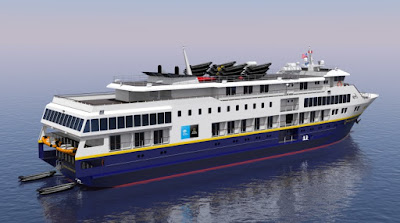 Nichols Brothers Boat Builders has entered into an agreement  to build two U.S. coastal vessels for Lindblad Expeditions-National Geographic
