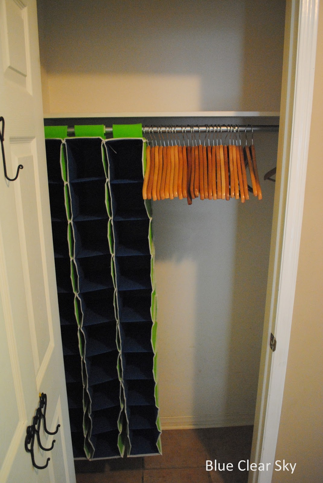 Rustic Maple Organizing Our Front Hall Closet