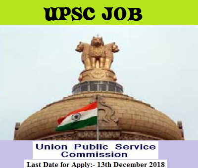UPSC Recruitment 2018 - Apply for Director, Scientist & Other Posts - www.Bengalstudent.in