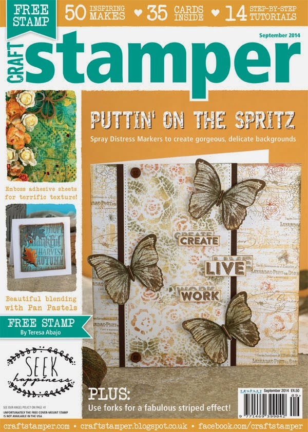 Published in Craft Stamper September 2014