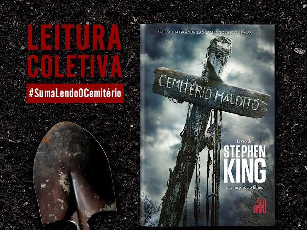 [Leitura Coletiva] Suma lendo O Cemitério, de Stephen King