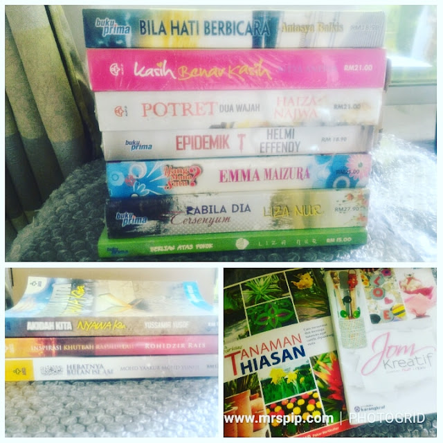 Beli buku di Karangkraf sempena sale 12.12