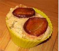 vegan essen in Wien - Veganer Zwetschken-Rotwein-Kuchen