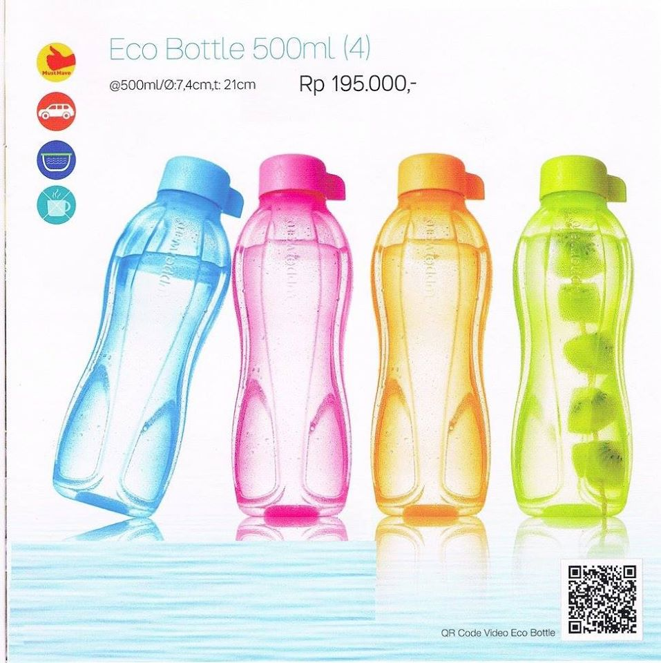 Tupperware Eco Bottle 500ml Z PLATENET