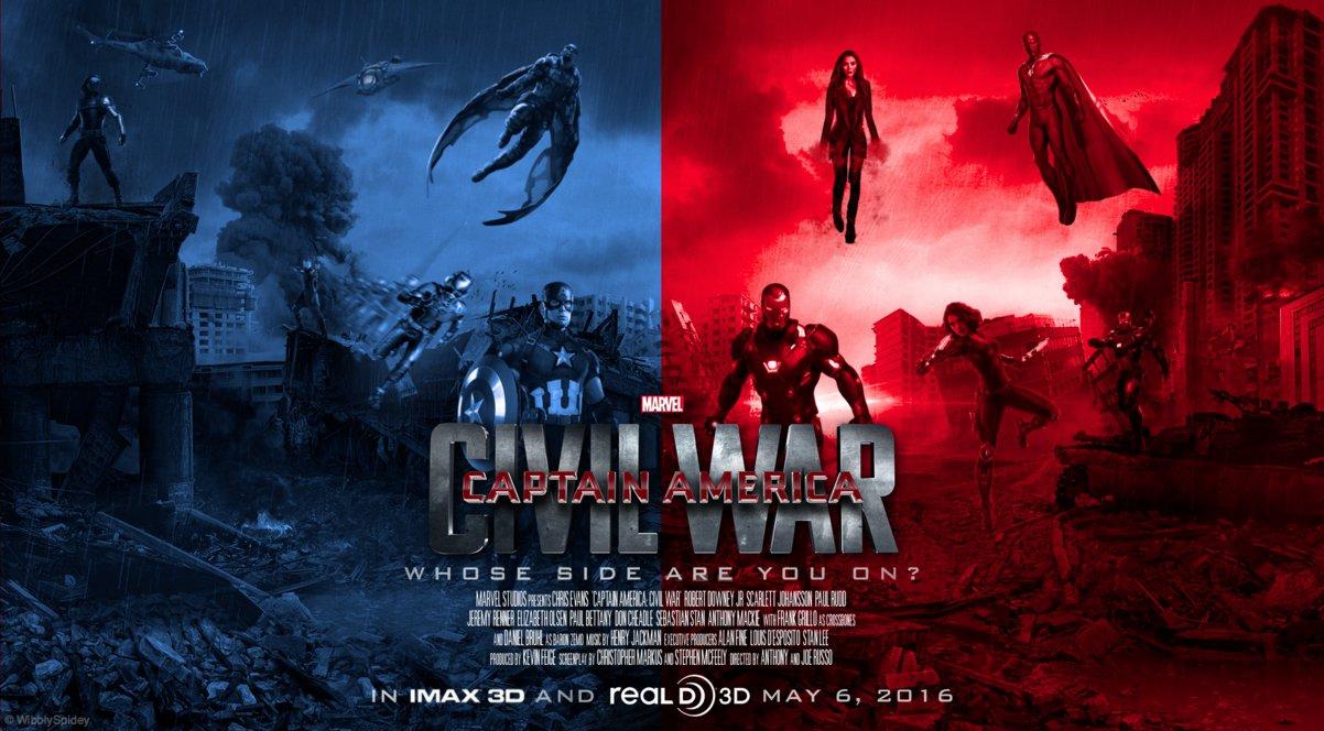 Resultado de imagem para Capitão América 3: Guerra Civil posters