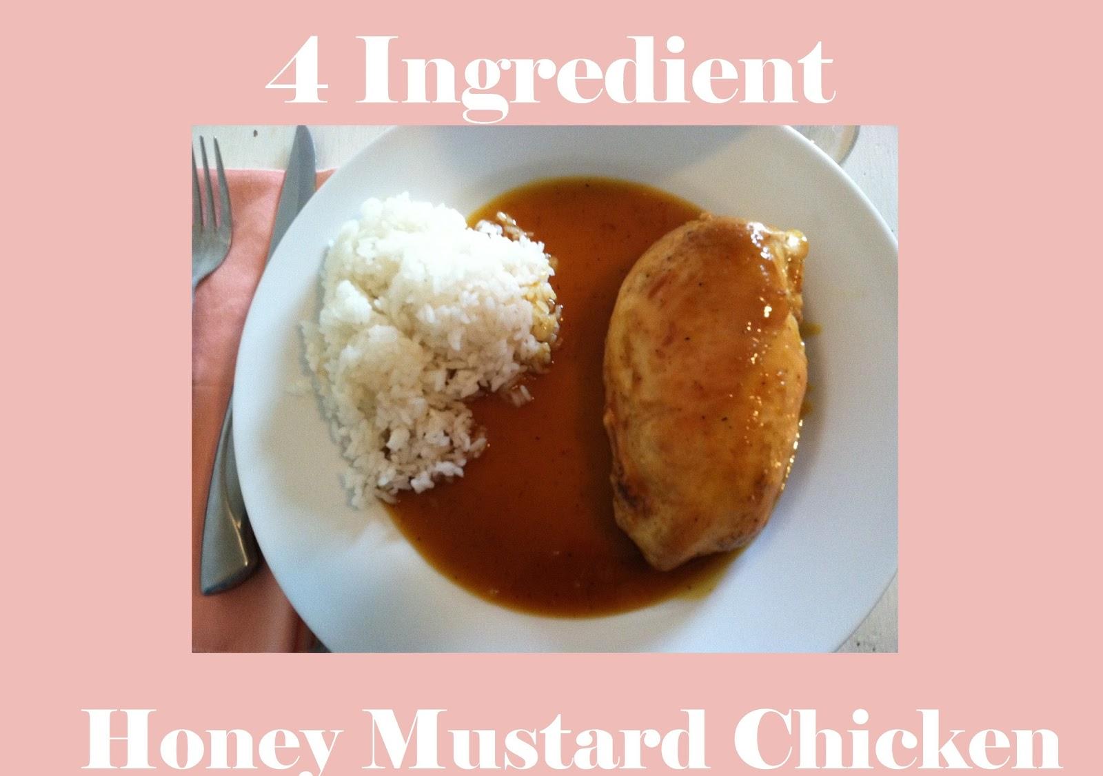 4 Ingredient AMAZING Honey Mustard Chicken | Mommy Blogs ...