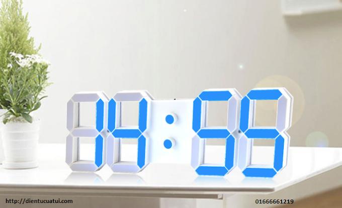 Đồng hồ Led điện tử treo tường phòng GYM