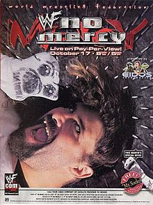 WWE / WWF No Mercy 1999 - Event poster