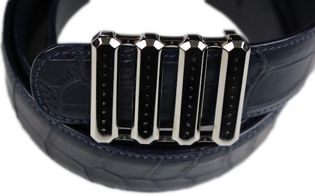 Stefano Ricci Crocodile Leather Belt