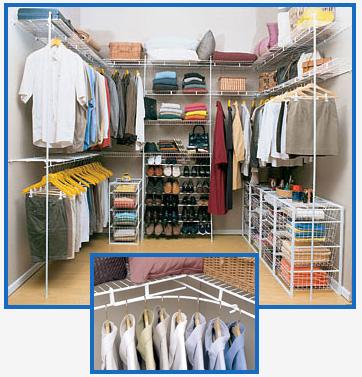 Decorar com divers o closet aramado for Closets para apartamentos pequenos