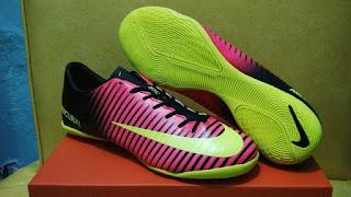 Sepatu Futsal Nike Mercurial Vapor XI Pink