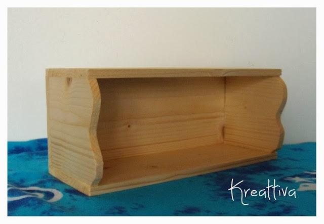 come costruire una mensola di legno