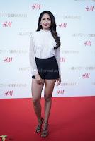 Pragya Jaiswal in lovely Black Mini Skirt and White Transparent Shirt ~  Exclusive 068.JPG