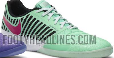 promo code 20a16 ea96b FC247  Nike Lunar Gato II 13-14 Green   Pink Colorway Leaked