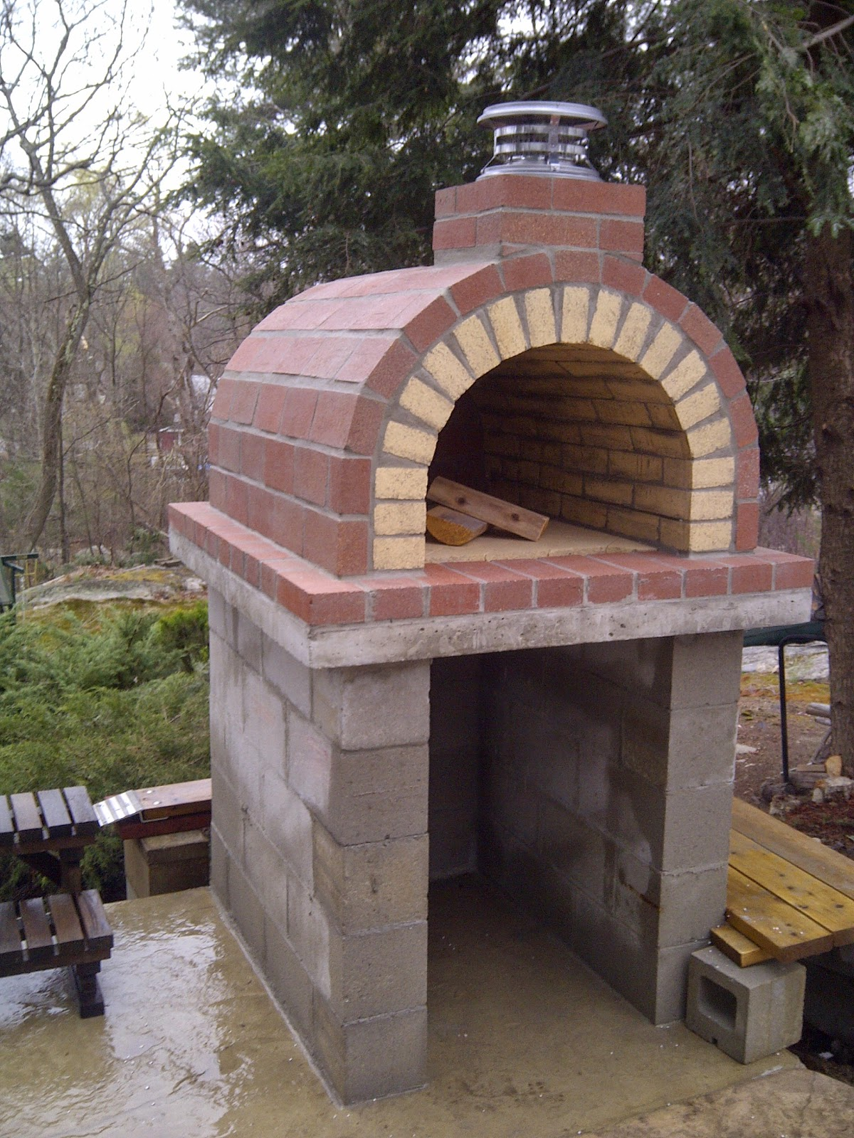 Outdoor Pizza Oven Building Instructions Architectural Design