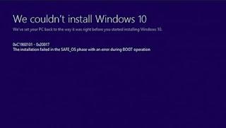 Nguyên nhân và cách khắc phục một số mã lỗi phổ biến trong cài đặt và nâng cấp Windows 10