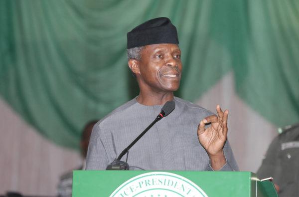 Nigeria Acting President bans touting at all ports