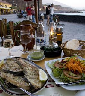 Restaurants at Tazacorte