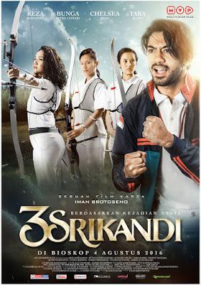 Download Film Indonesia 3 Srikandi (2016) Bluray