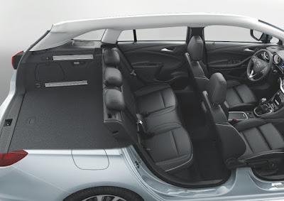 Νέο Astra Sports Tourer  με αποδοτικούς κινητήρες τελευταίας γενιάς που μειώνουν την κατανάλωση