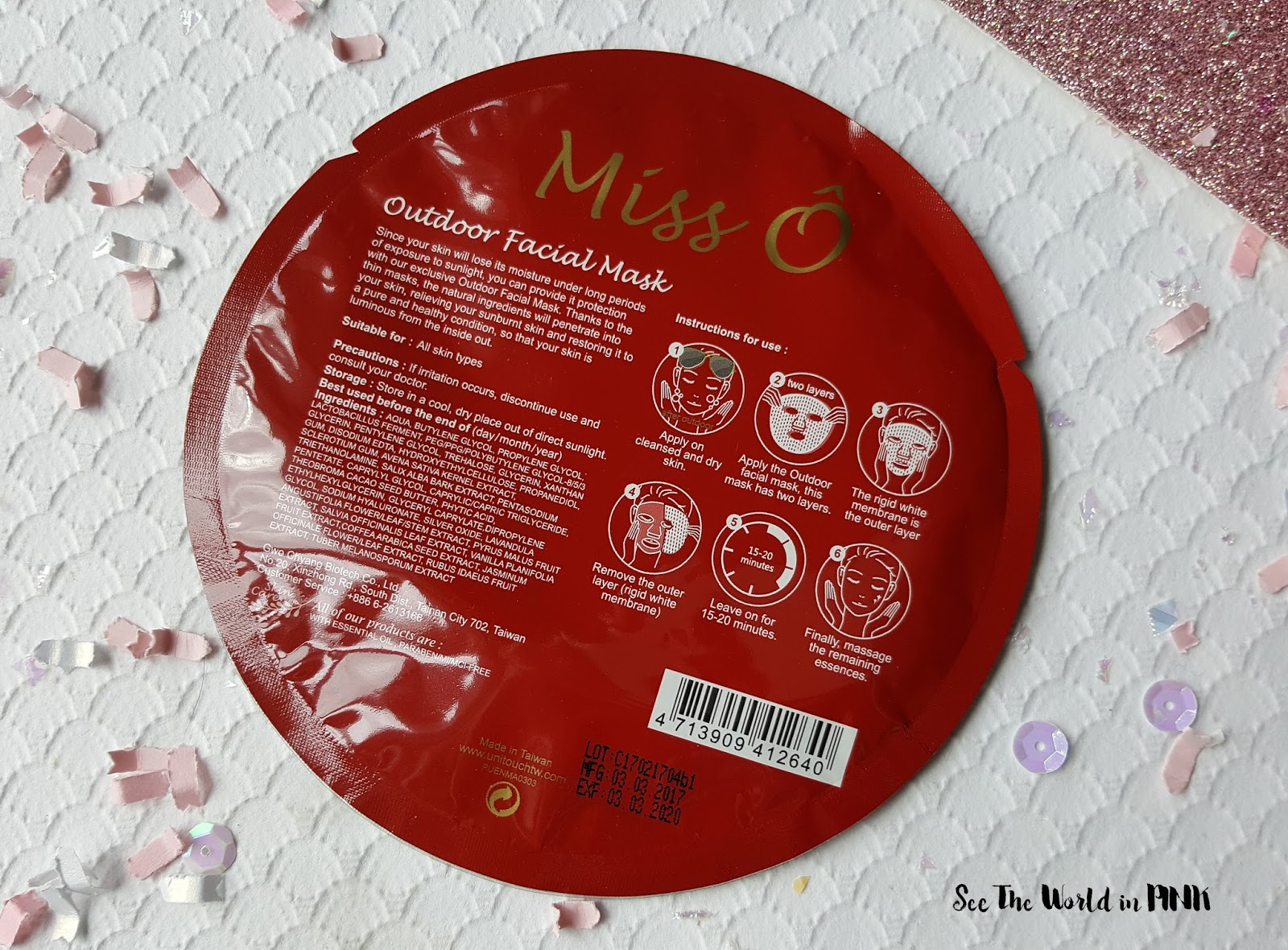 Mask Thursday - Unitouch Miss O Mask Reviews + $5 Off Coupon Code At Beautibi!