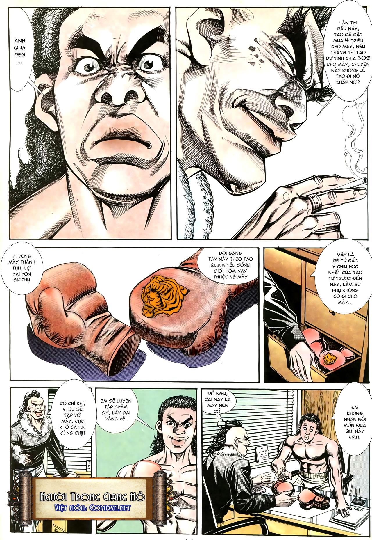 Người Trong Giang Hồ chapter 193: mưu kế đầy bụng trang 18