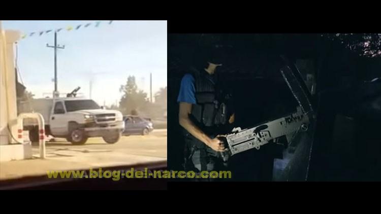 Camioneta artillada que salio en documental sobre el Cártel de Sinaloa parecer ser la misma usada en balacera de Navolato