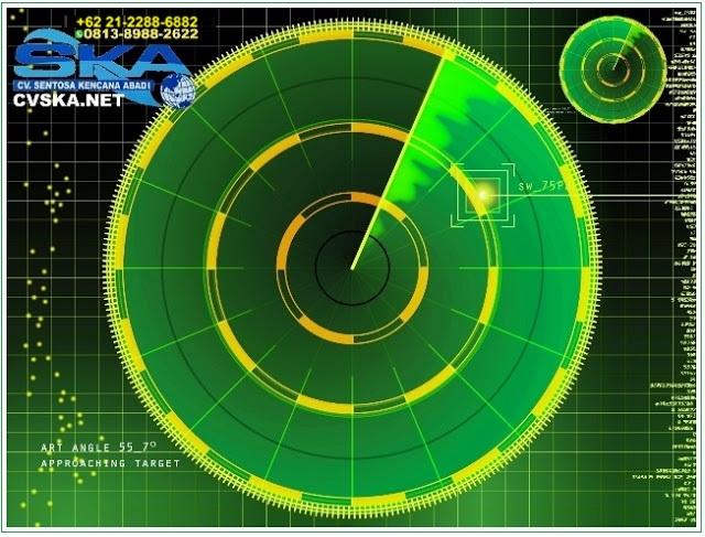 layar radar beacon