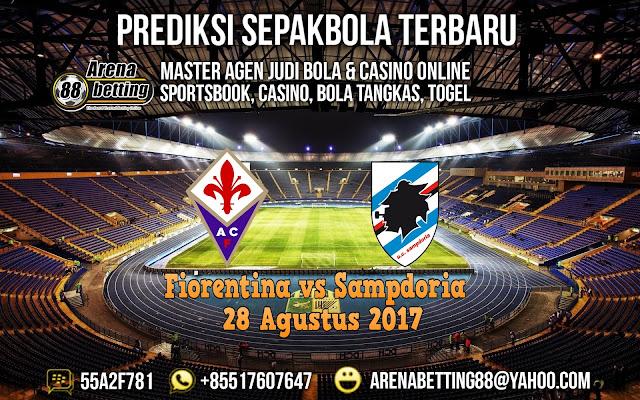 Prediksi Pertandingan Fiorentina vs Sampdoria 28 Agustus 2017