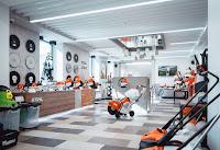 Дизайн эксклюзивного магазина салона STIHL и VIKING Екатеринбург Dulisov design студия интерьер Exclusive store market interior