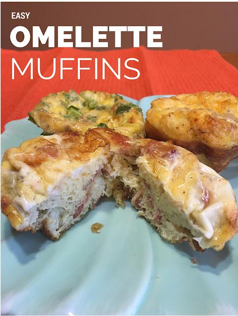 Easy Omelette Muffins