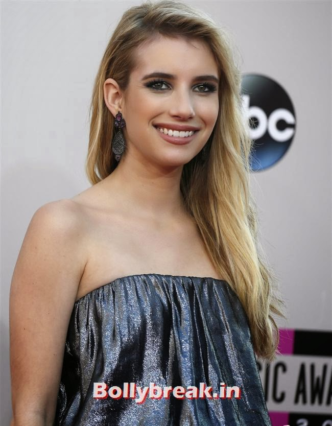 Emma Roberts, American Music Awards 2013