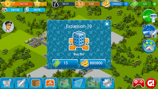 Airport City Mod Apk Terbaru v5.1.23 (Mod Cash+Money)