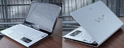 Jual Laptop Sony Vaio SVE14126CVW Bekas