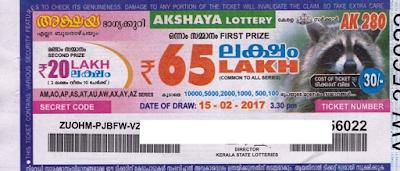 Kerala Lottery Result Today: Live 22-11-2017 Akshaya Lottery (AK-320)