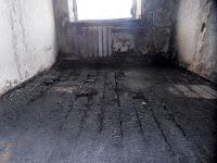 (ФОТО)Пожар в семейном общежитии г. Сухой Лог, ул. Пушкинская, д. 9