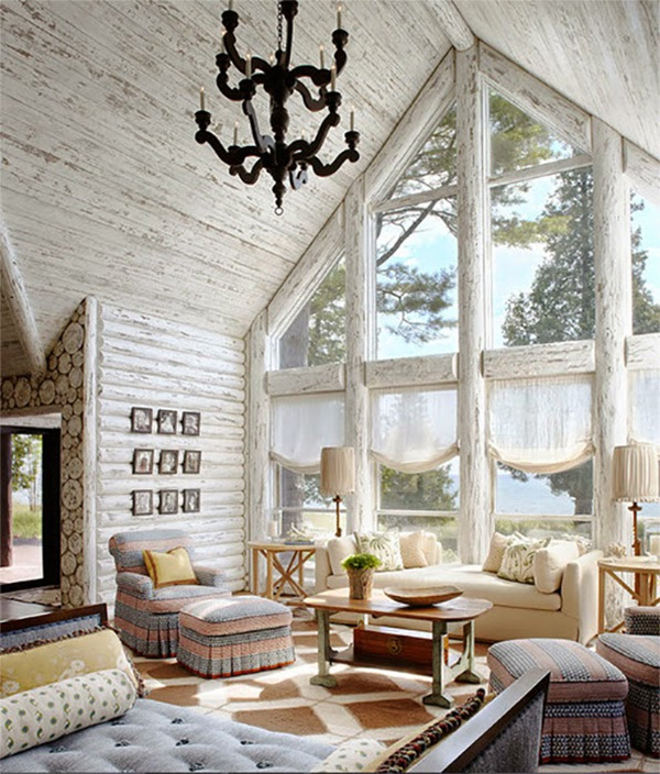 Cozy Home Interiors: Cottages, Cabins, & Cozy Winter Homes