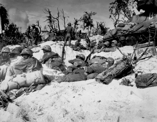 "The Battle of Peleliu Originated ""The Thousand Yard Stare"""