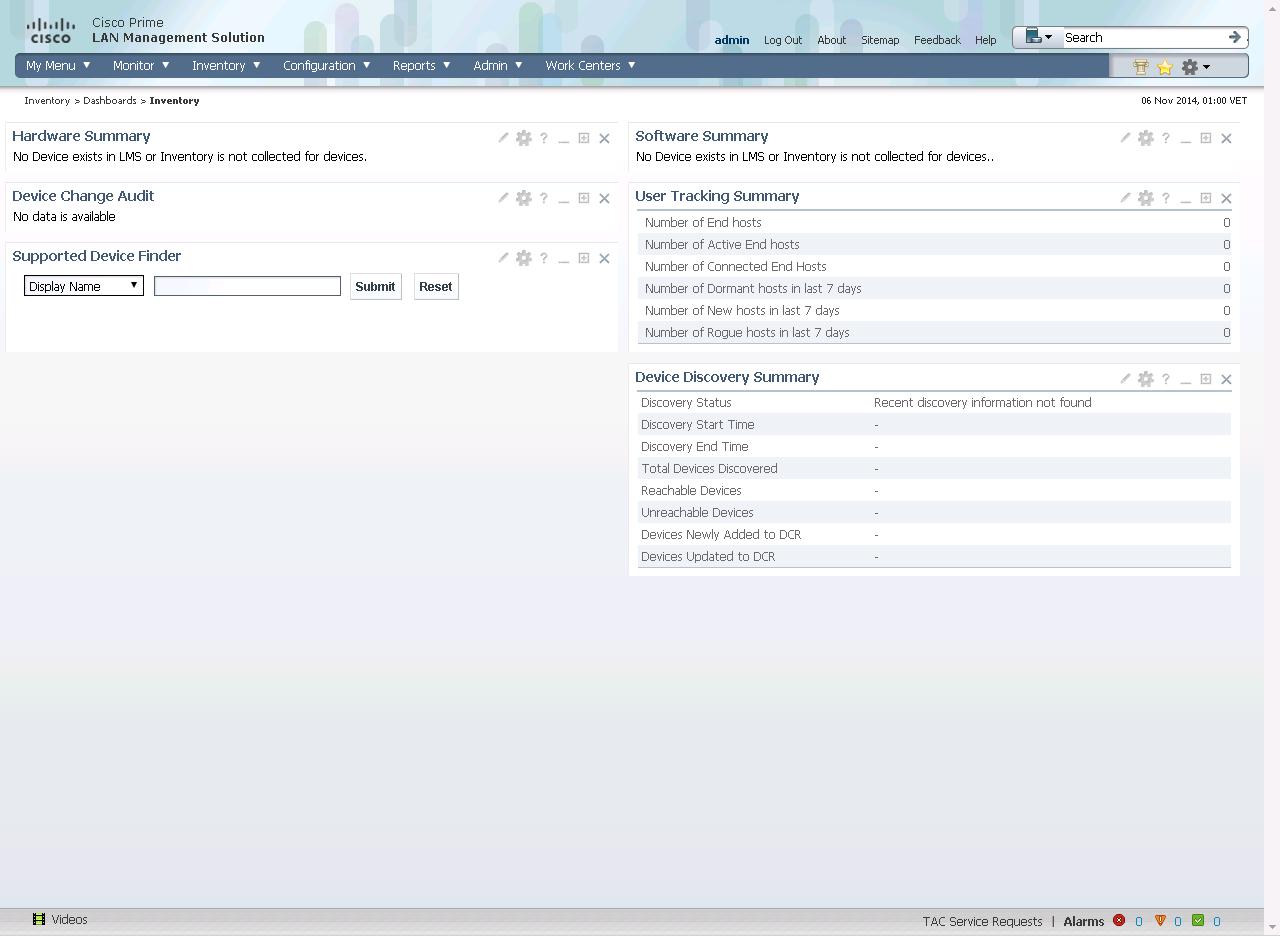 Cisco Prime LAN Management Solution 4.1