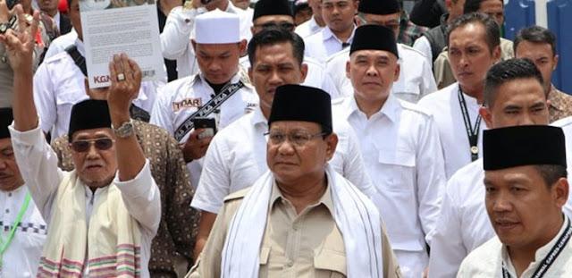 Prabowo Kembali Didoakan Ulama Jadi Presiden